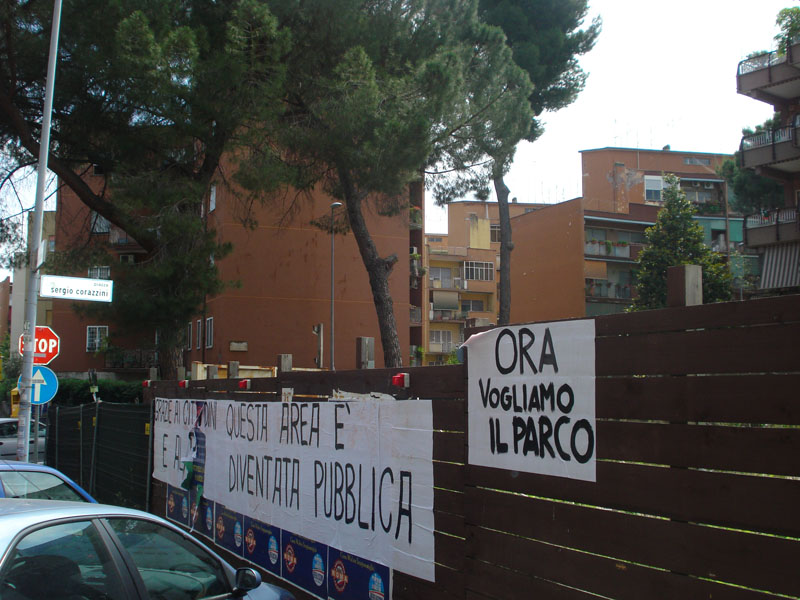 Read more about the article Piazza Corazzini, il Pd chiede si faccia un giardino pubblico